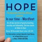 In our Time - Wordfest 2016
